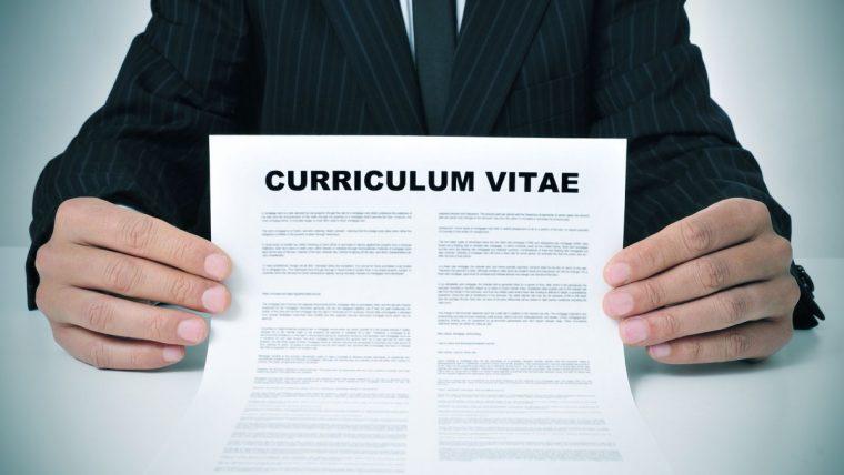 The Curriculum Vitae is crazy shit!